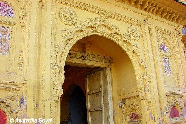 Entrance to the Palace of Jhansi Ki Rani