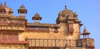 Jahangir Mahal at Orchha