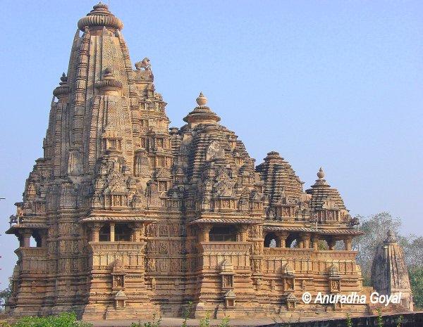 Kandariya Mahadev Temple at Khajuraho, Madhya Pradesh