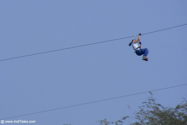 Aerial Ziplining adventure activity