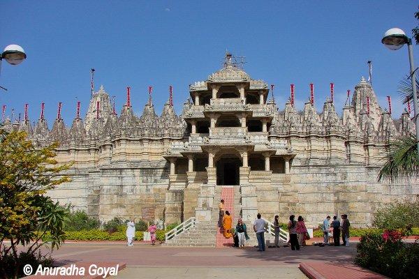 Chaumukha Jain Temple at Ranakpur, Rajasthan