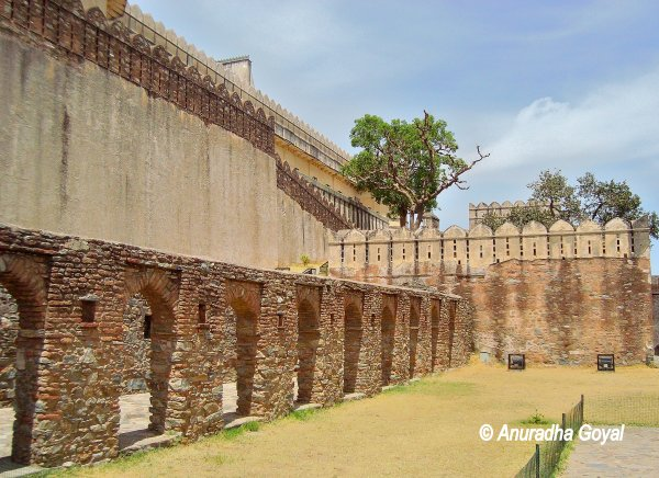 Inside the Kumbhalgarh Fort