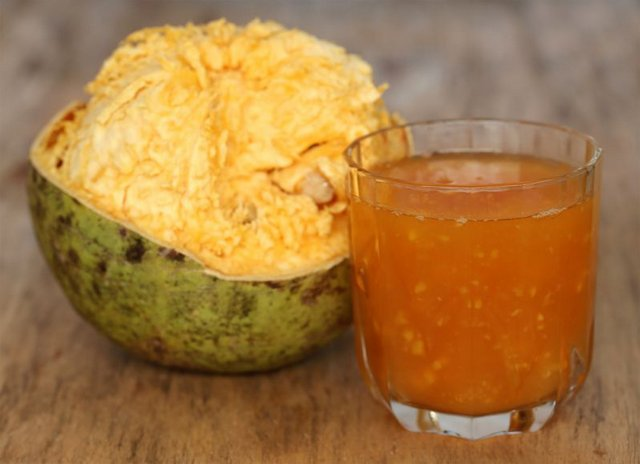 Wood Apple Fruit Juice commonly found in Indian hinterlands