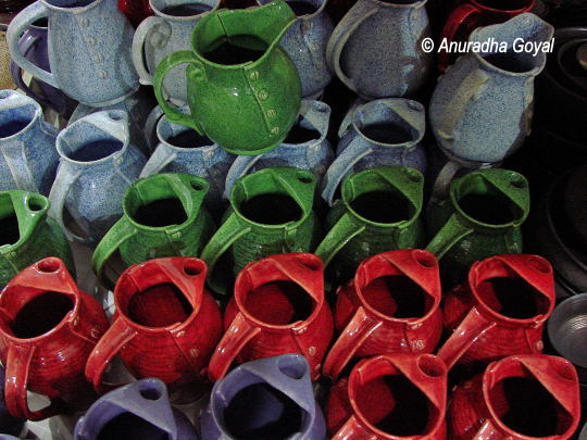Colorful Khurja Pottery
