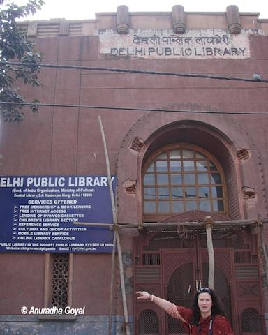Delhi Public Library, Old Delhi or Shahjahanabad