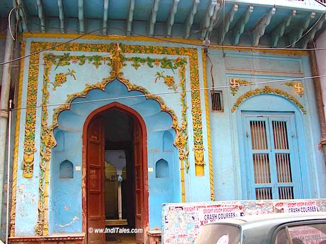 Heritage houses on Turkman Gate to Ajmeri Gate Trail, Old Delhi
