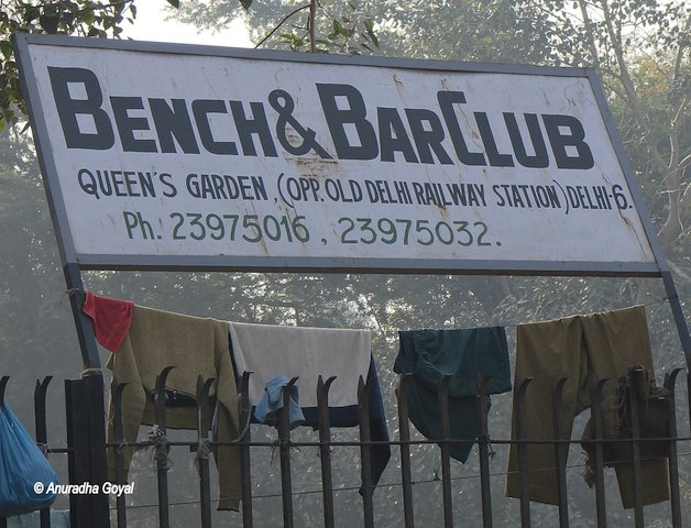 Bench & Bar Club at Queen's Garden opposite Old Delhi Railway Station