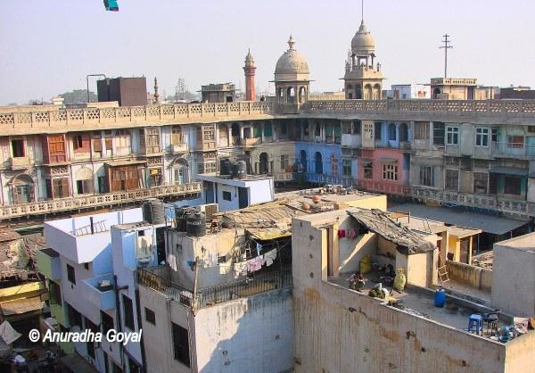 Gadodia Market Khari Baoli Old Delhi