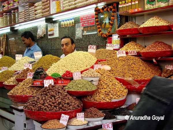Spice Shop at Khari Baoli - spice market Old Delhi