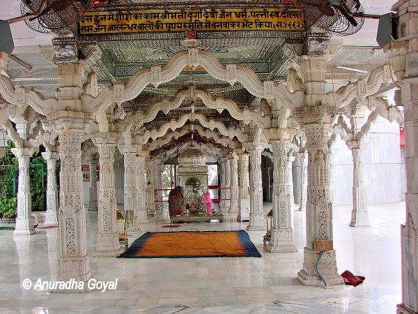 Inside Dadabari Temple, Mehrauli, Delhi