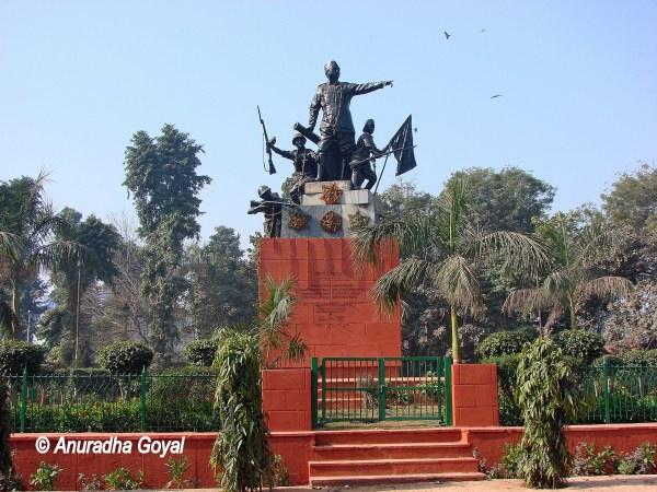 Netaji Subhash Park Delhi Opposite Red Fort