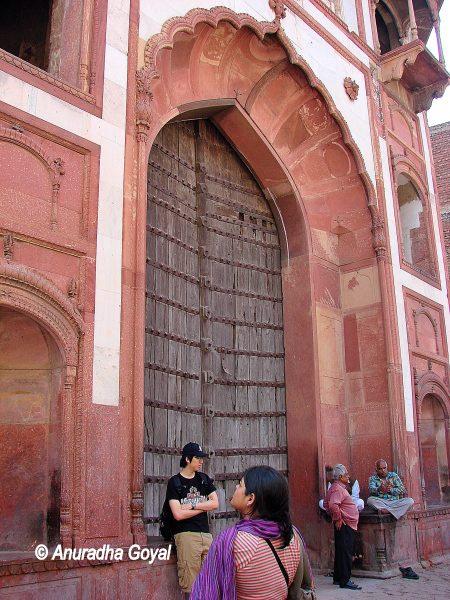 Multi-storey Hathi Gate of Zafar Mahal, Mehrauli, Delhi