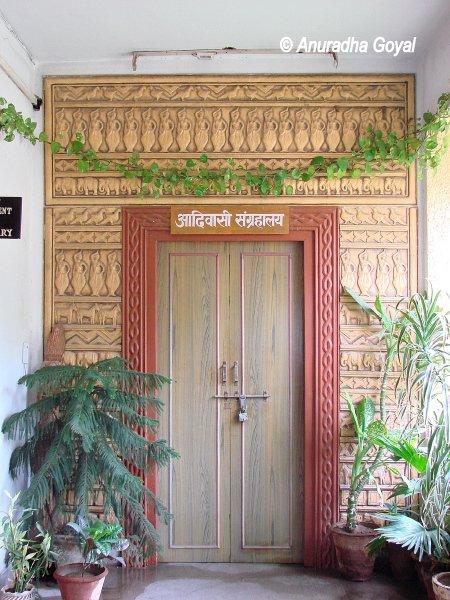 Entrance of Tribal Museum, Delhi