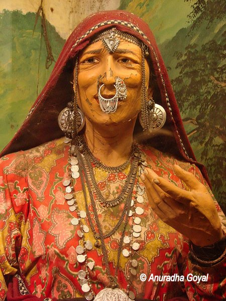 Model of a Tribal Woman from Himachal