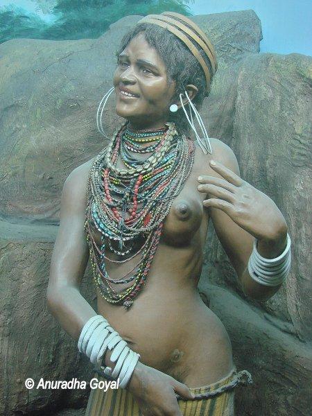 Model of a Tribal Woman