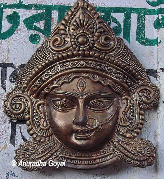 Dhokra artworks of Durga