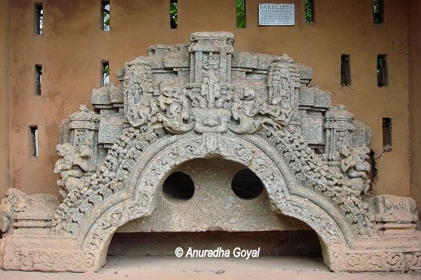 Heritage stone artwork at Museum, Bishnupur Town