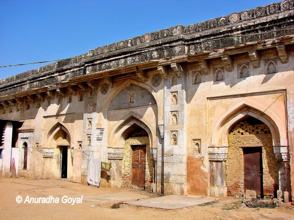 Inside view Jahaj Mahal, South Mehrauli