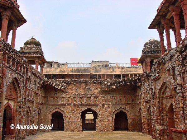 Heritage Jahaj Mahal in South Mehrauli, Delhi