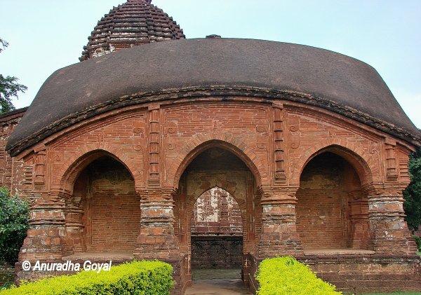Madan Mohan temple - Bishnupur Terracotta Temples