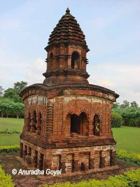 One of the many Bishnupur Terracotta Temples