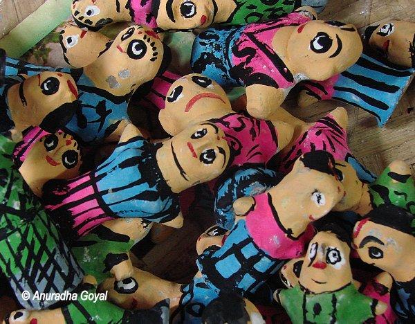 Toys at Art Mart of Bishnupur