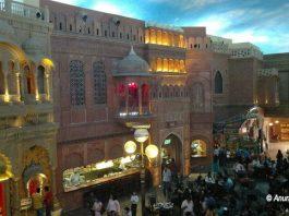 Indian Bazaar scene at the Kingdom of Dreams