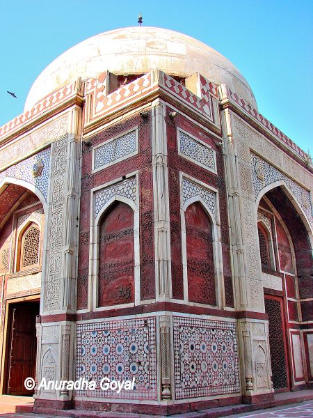 Atgah Khan Tomb, Basti Nizamuddin, Delhi