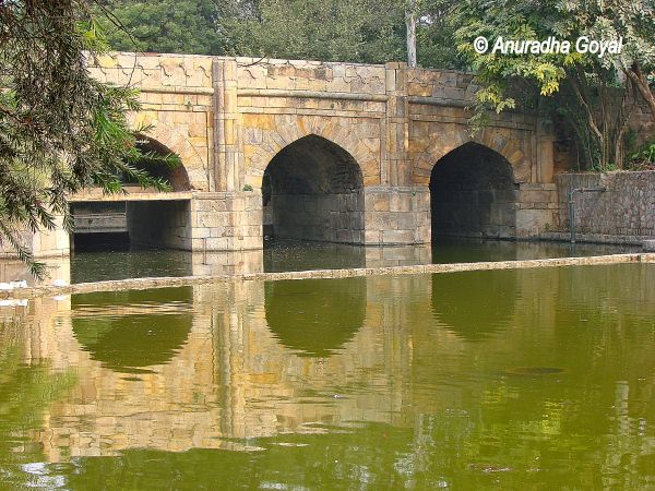 Athpula Bridge at Lodi Gardens