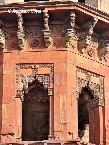 Indo-Islamic Architecture at Purana Qila, Delhi