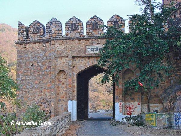 Jai Pol gate of Bala Qila Fort