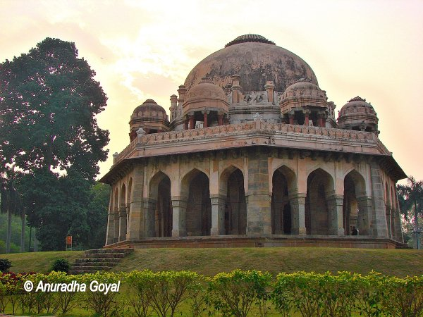 Mohammad Shah Tomb at Lodi Gardens