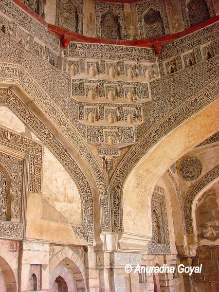 Niches of Bara Gumbad, Lodi Gardens, Delhi