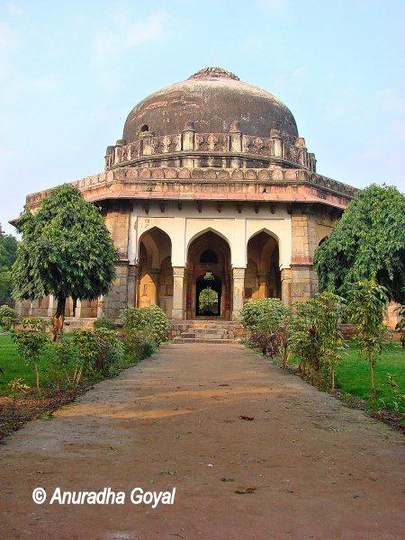 Sikandar Lodi Tomb at Lodhi Gardens