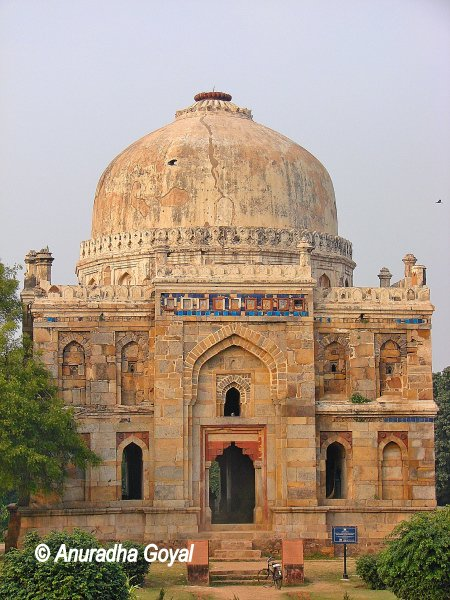 Tomb at Lodi Gardens, Delhi