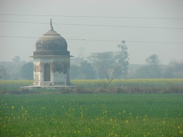 An old Gumbaj in Sarson ka khet at Farrukhnagar