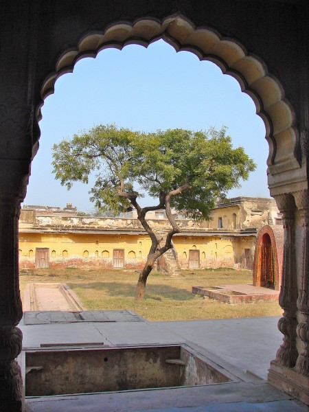 View from the Arch of Sheesh Mahal