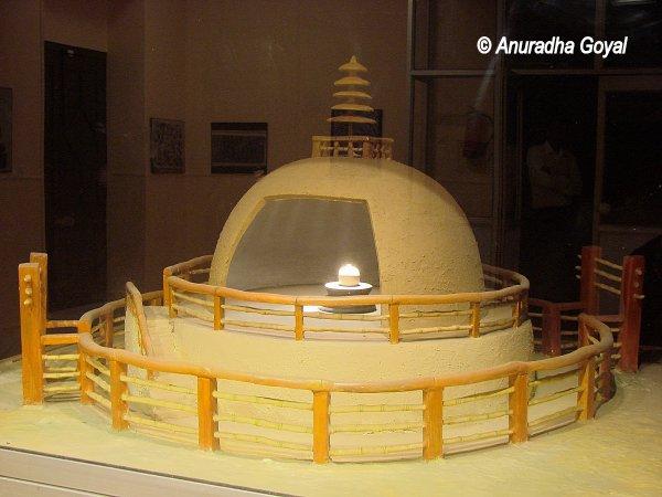 Buddha Relics at Patna Museum