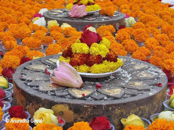 Cankramana at Mahabodhi Temple Complex