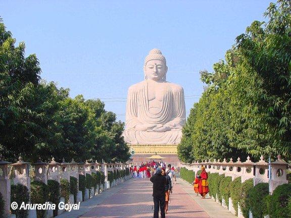 Giant Buddha statue in Dhyan Mudra