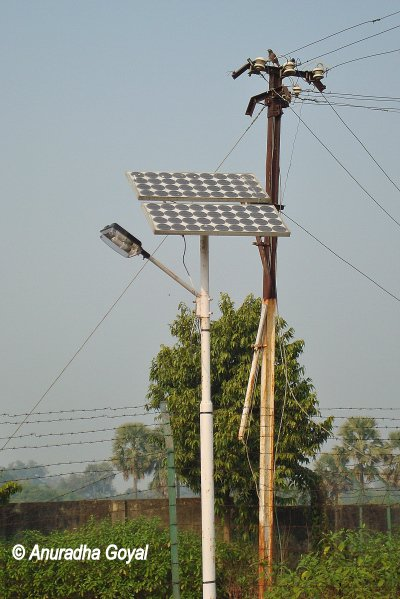 Solar panels are seen across Bihar