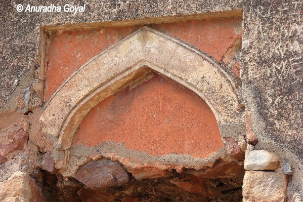 Arches at Feroz Shah Kotla Fort