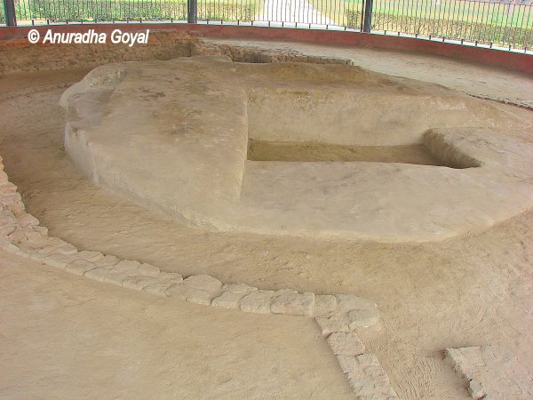 Original Stupa with Buddha Relics at Vaishali