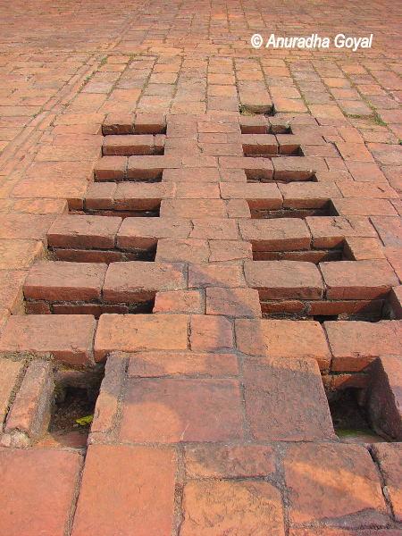 Part of ancient laboratory at Nalanda, Bihar