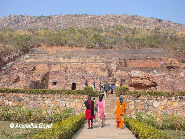 Son Bhandar Caves, Rajgir