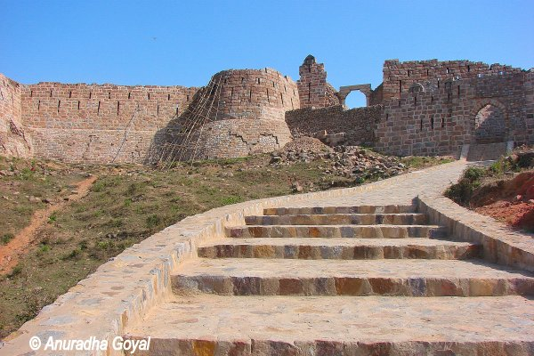 Stairs of Adilabad Fort