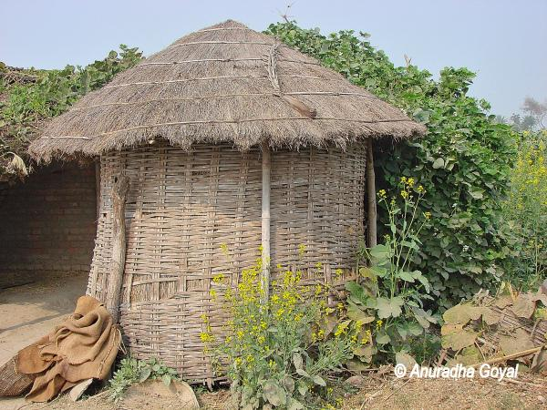 A typical Hut in a Bihar Village