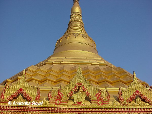 Global Vipassana Pagoda, also known as Golden Pagoda or Pagoda Mumbai