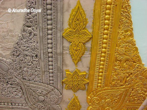 Work-in-progress at Global Vipassana Pagoda, Mumbai