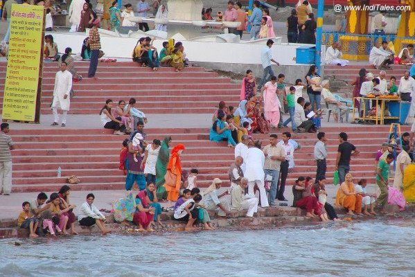 Ganga Ghat at Rishikesh